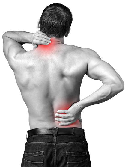 Massage Rugklachten